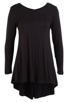 Spliced Drape L/S Top