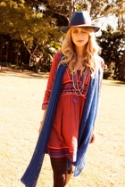 Madeline Cotton Aztec Dress