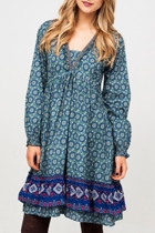 Annabel Cotton Snowflake Dress