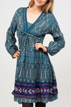Annabel Lattice Dress