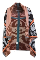 Abstract Shawl Jacket