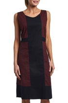 Vero Cross Shift Dress