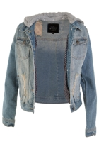 Just Add Sugar Revival Denim Jacket