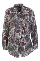 St-Malo Washed Paisley Shirt