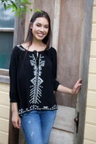 Rebecca Embroidered Top
