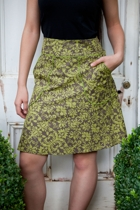 Melissa Skirt W Pockets