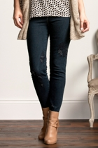 Embroidered Miracle Denim Jean