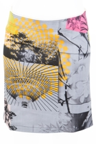Case Printed Skirt