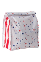 Lunch Bag - Stars Red & Blue