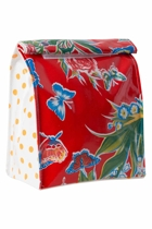 Lunch Bag - Butterfly Red
