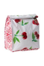 Lunch Bag - White Cherry