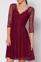 Darlina Cross Front Lace Dress
