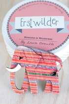 Earl The Eager Elephant Brooch
