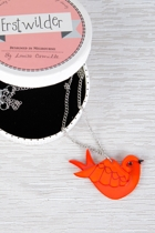 Erstwilder Anouk's Lost Letter Necklace