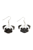 Pierre's Pug Life Earrings
