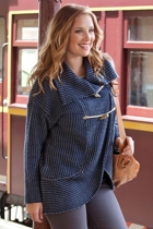 Oversized Toggle Knit Cardi