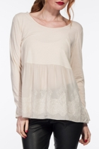 Silt Embroidered Top