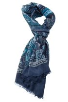 Georgette Large Rectangular Scarf