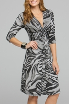 Zanzibar V Neck Dress