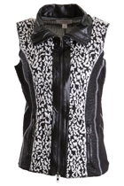 Multi Textured Zip Front Vest