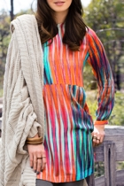 Printed Tunic Dress