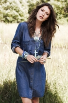 Denim Love Dress