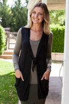 Shawl Pocket Vest