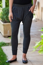 Lounge Pant W Gathered Pocket