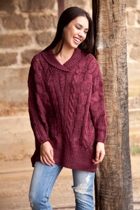 All About Eve Frontier Poncho