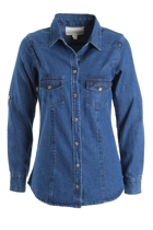 Blue Moon Jean Shirt