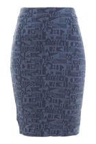 Jacquard Tube Skirt