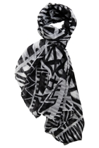 Tribal Trio Print Scarf