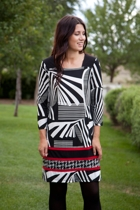 Modern Graphic Tunic