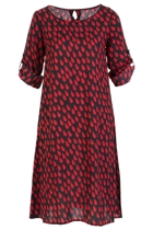 Robbie Shift Dress Raindrops