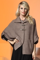 Wynter Knit Cape