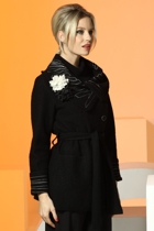 Gitane Embroidered Collar & Cuff Coat