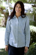 Yarra Trail Button Through L/S Shirt