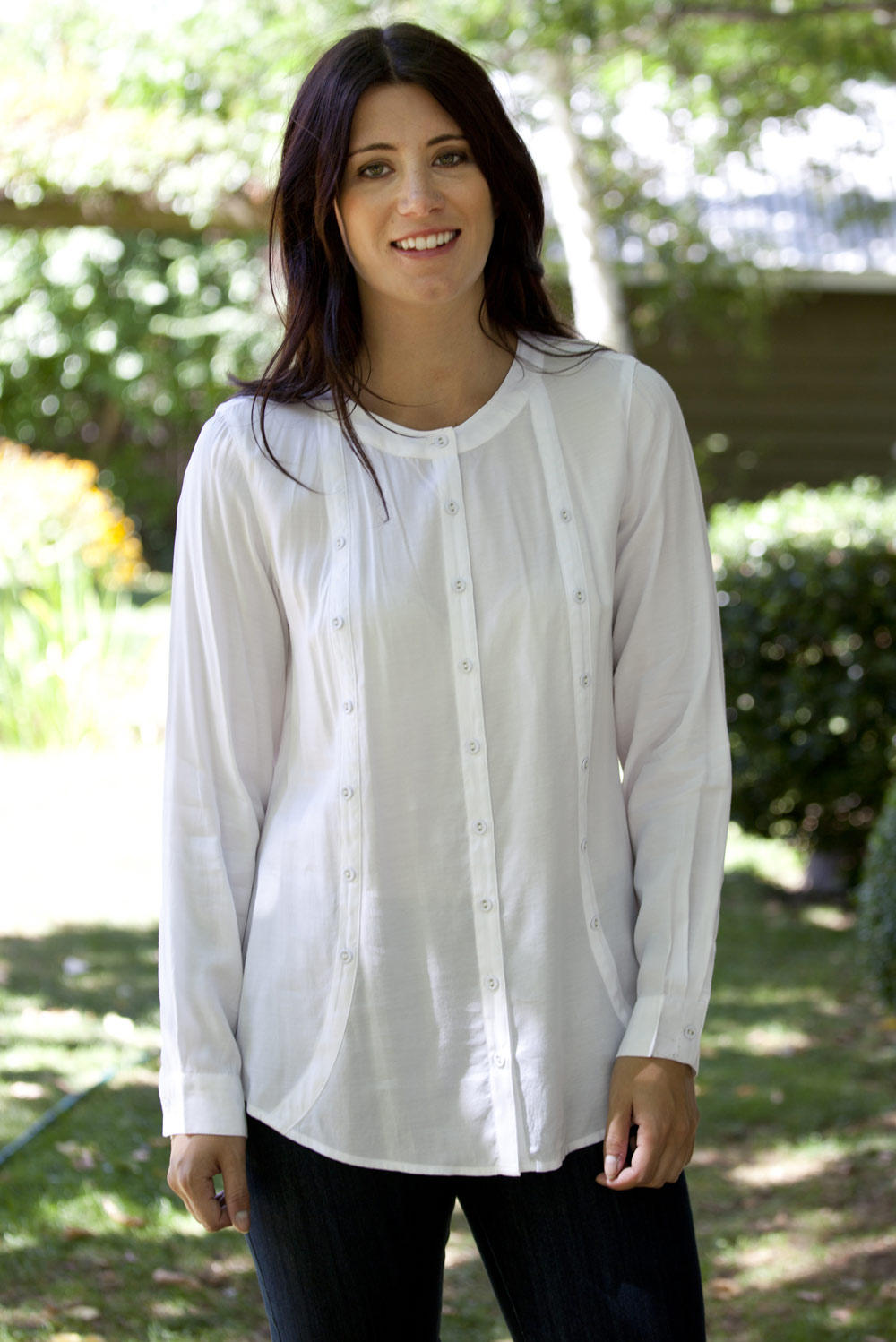 Yarra Trail Placket L/S Shirt