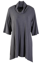 Cowl Plain Tunic