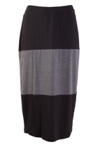 Claudia Spliced Panel Skirt