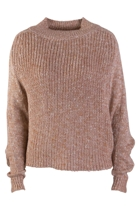 Amaretti Melange Crop Sweater