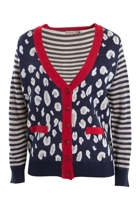 Animal Knitted Cardi