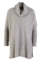 High Neck Knit L/S Sweater