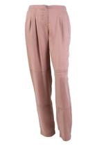 Washed Silk Cupro Pant