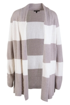Wide Stripe L/S Cardigan