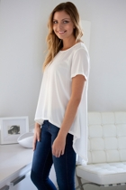 Waterfall Tail Tee
