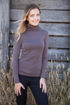 Merino L/S Polo Top
