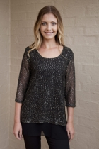 Lunar Sequin Knit
