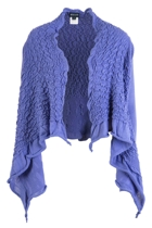 Rouched Knitted Cardigan