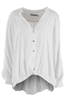Draped 2 Way Opera Shirt